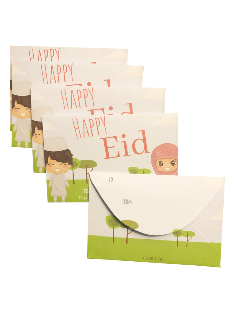 5 Pack Gift Card Envelope