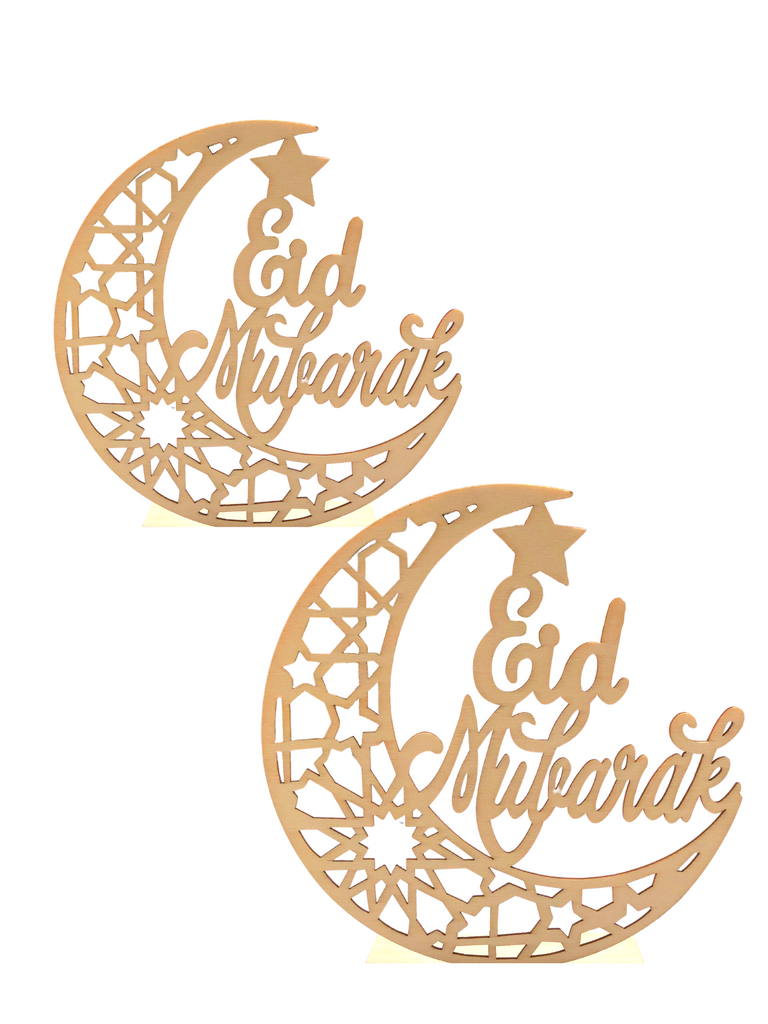 Double Pack: DIY Eid Mubarak Moon Sign