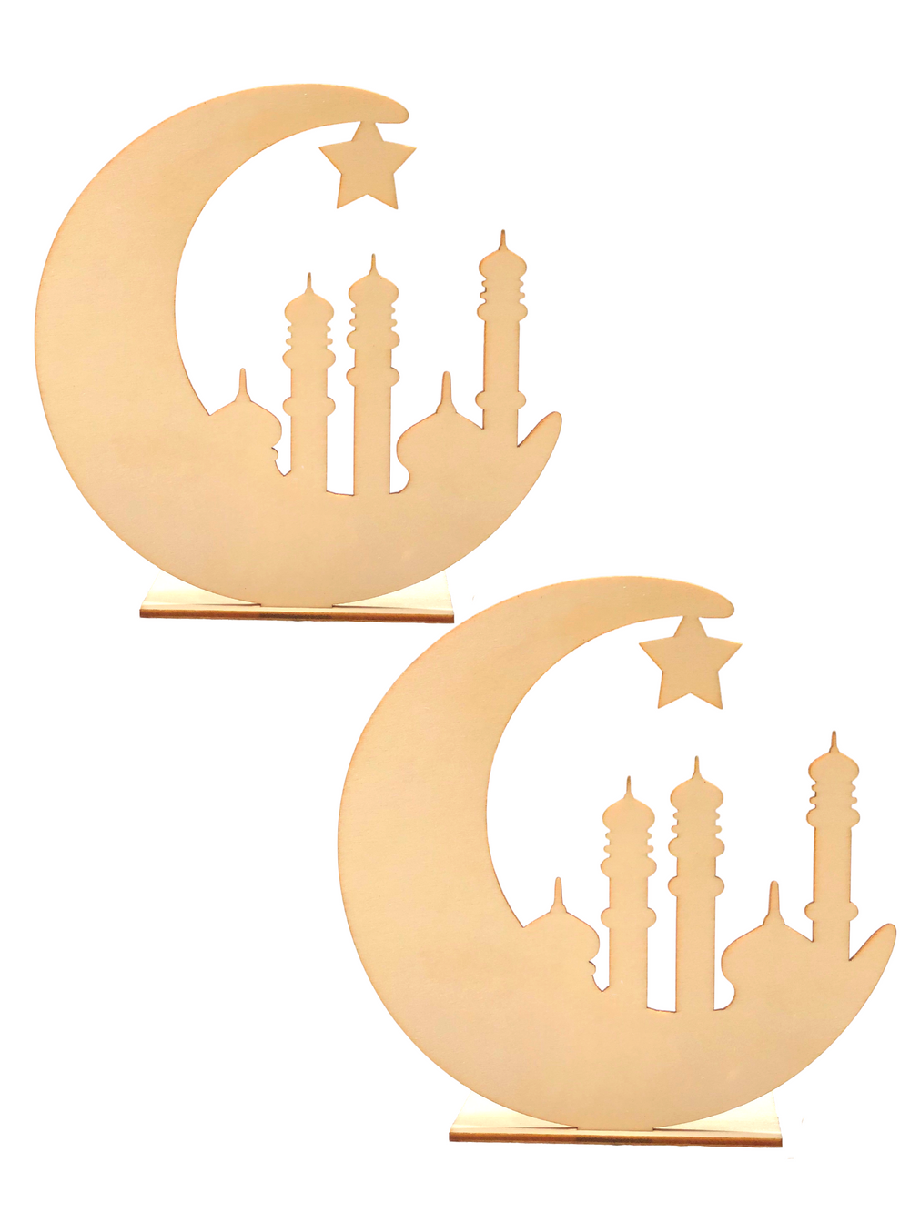 Double Pack - Moon and Mosque DIY Décor