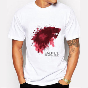 WINTER IS COMING Blood Drop T-shirt - Ahoo store