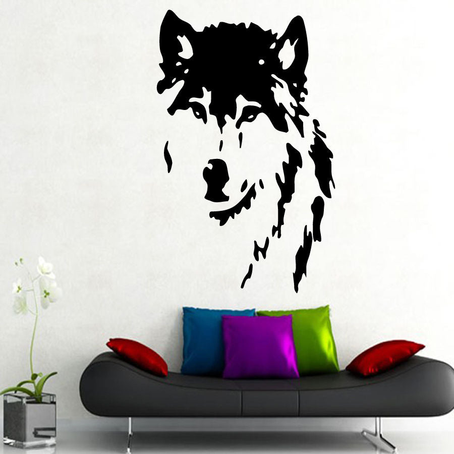 Wolf Wall Sticker - Ahoo store