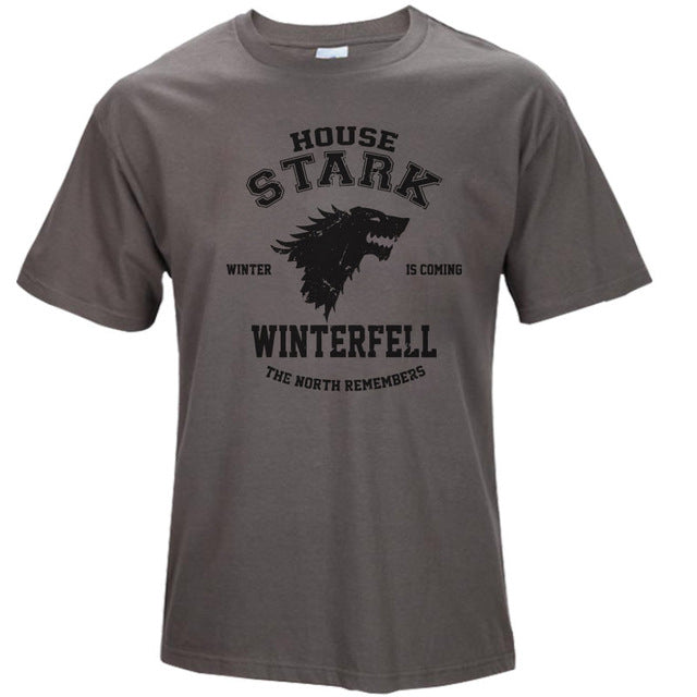 WINTER IS COMING T-shirt - Ahoo store