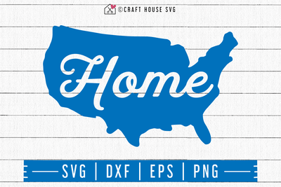 4th of July SVG file | Home SVG Craft House SVG - SVG files for Cricut and Silhouette