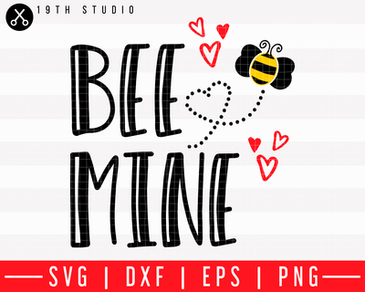 Bee mine SVG | M43F1 Craft House SVG - SVG files for Cricut and Silhouette