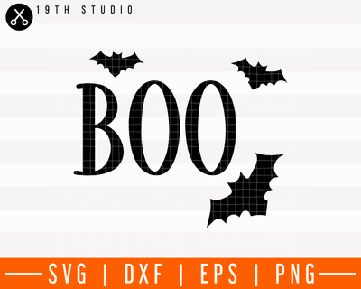 Boo SVG | M28F1 Craft House SVG - SVG files for Cricut and Silhouette