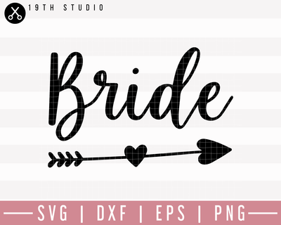 Bride SVG | M27F5 Craft House SVG - SVG files for Cricut and Silhouette