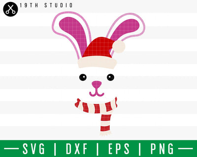 Bunny Chritsmas SVG | M42F2 Craft House SVG - SVG files for Cricut and Silhouette