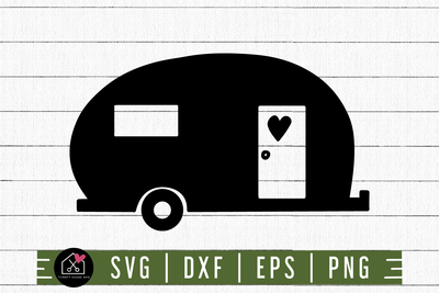 Camper SVG | M3F3 Craft House SVG - SVG files for Cricut and Silhouette
