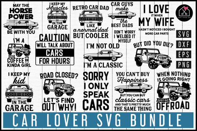 Car SVG Bundle | MB87 Craft House SVG - SVG files for Cricut and Silhouette