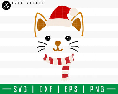 Cat Chritsmas SVG | M42F3 Craft House SVG - SVG files for Cricut and Silhouette