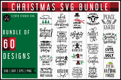 Christmas SVG Bundle | MB56 Craft House SVG - SVG files for Cricut and Silhouette