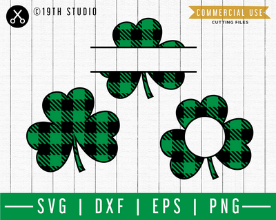 Clover Plaid SVG | A St. Patrick's Day SVG cut file M45F Craft House SVG - SVG files for Cricut and Silhouette