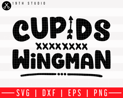 Cupids wingman SVG | M43F8 Craft House SVG - SVG files for Cricut and Silhouette