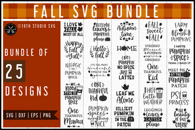 Fall SVG Bundle | MB57 Craft House SVG - SVG files for Cricut and Silhouette