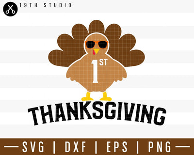 First Thanksgiving SVG | M38F2 Craft House SVG - SVG files for Cricut and Silhouette