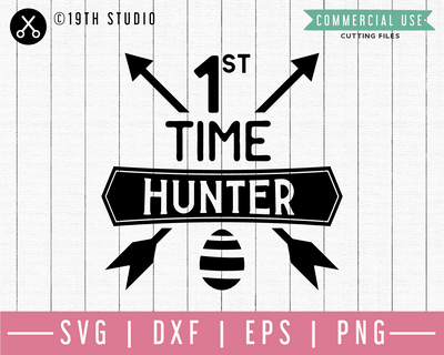 First time hunter SVG | M46F | An Easter SVG cut file Craft House SVG - SVG files for Cricut and Silhouette