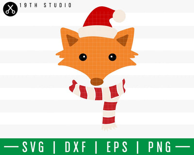 Fox Chritsmas SVG | M42F5 Craft House SVG - SVG files for Cricut and Silhouette