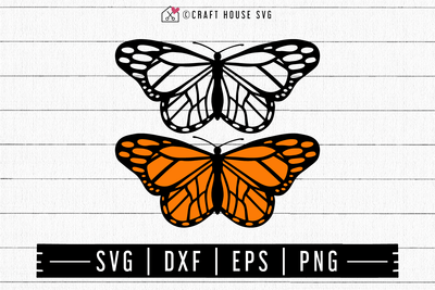 FREE Butterfly SVG | FB118 Craft House SVG - SVG files for Cricut and Silhouette