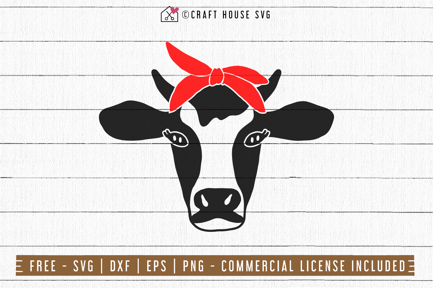 Download FREE Cow SVG - Cow bandana SVG - Craft House SVG
