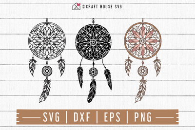 FREE Dreamcatcher SVG | FB97 Craft House SVG - SVG files for Cricut and Silhouette