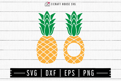 FREE Pineapple SVG | FB123 Craft House SVG - SVG files for Cricut and Silhouette