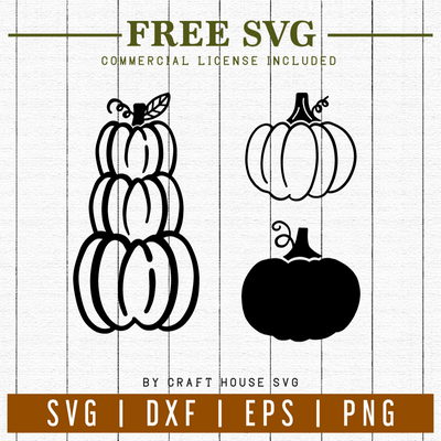 FREE | Pumpkins SVG | FB2 Craft House SVG - SVG files for Cricut and Silhouette
