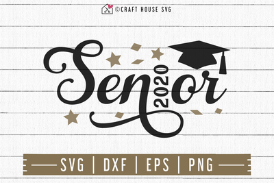 FREE Senior 2020 SVG | FB109 Craft House SVG - SVG files for Cricut and Silhouette