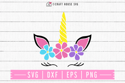 FREE Unicorn SVG | FB95 Craft House SVG - SVG files for Cricut and Silhouette