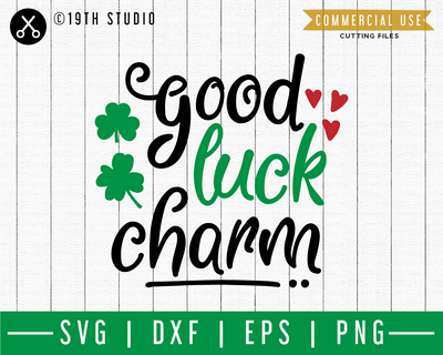 Good luck charm SVG | A St. Patrick's Day SVG cut file M45F Craft House SVG - SVG files for Cricut and Silhouette