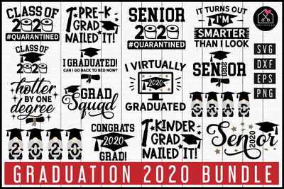 Graduation 2020 SVG Bundle | MB82 Craft House SVG - SVG files for Cricut and Silhouette