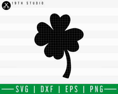 Graphic Clover Leaf V2 SVG | M18F4 Craft House SVG - SVG files for Cricut and Silhouette