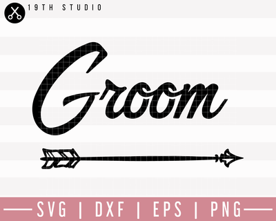 Groom SVG | M27F7 Craft House SVG - SVG files for Cricut and Silhouette