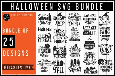 Halloween SVG Bundle | MB59 Craft House SVG - SVG files for Cricut and Silhouette
