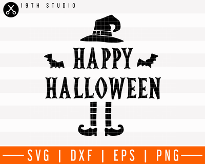 Happy Halloween SVG | M28F5 Craft House SVG - SVG files for Cricut and Silhouette