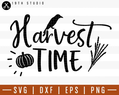 Harvest Time SVG | M29F7 Craft House SVG - SVG files for Cricut and Silhouette