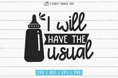 I will have the usual SVG | M53F Craft House SVG - SVG files for Cricut and Silhouette
