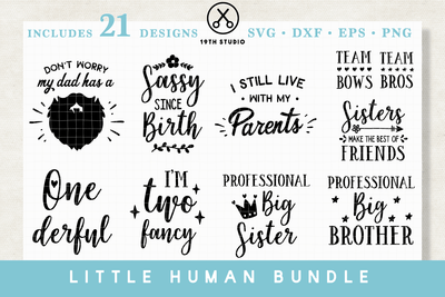 Kids SVG Bundle - M17 Craft House SVG - SVG files for Cricut and Silhouette