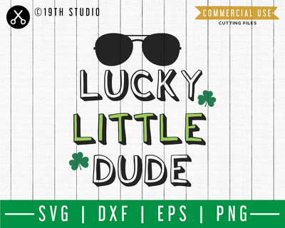 Lucky little dude SVG | A St. Patrick's Day SVG cut file M45F Craft House SVG - SVG files for Cricut and Silhouette
