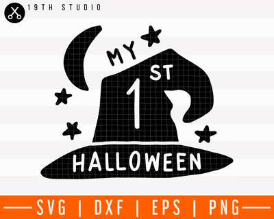 My 1st Halloween SVG | M28F11 Craft House SVG - SVG files for Cricut and Silhouette