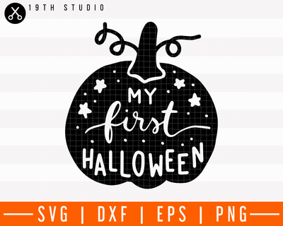 My first halloween SVG | M28F12 Craft House SVG - SVG files for Cricut and Silhouette