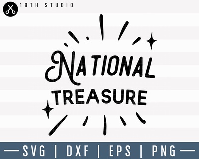 National Treasure SVG | M8F13 Craft House SVG - SVG files for Cricut and Silhouette