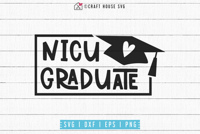 Nicu graduate SVG | M53F Craft House SVG - SVG files for Cricut and Silhouette