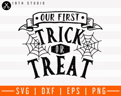 Our first trick or treat SVG | M28F14 Craft House SVG - SVG files for Cricut and Silhouette