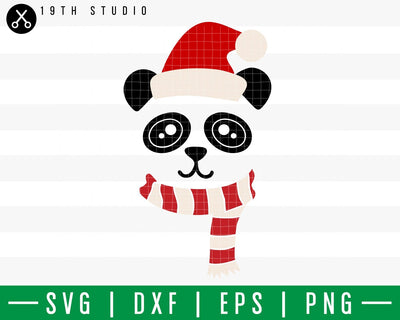 Panda Chritsmas SVG | M42F9 Craft House SVG - SVG files for Cricut and Silhouette