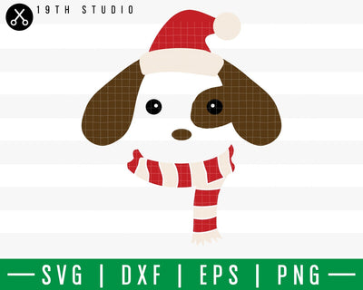 Puppy Chritsmas SVG | 2 Chritsmas SVG | M42F13 Craft House SVG - SVG files for Cricut and Silhouette