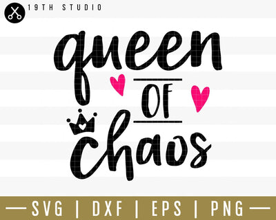 queen of chaos SVG | M34F12 Craft House SVG - SVG files for Cricut and Silhouette