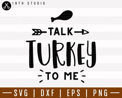 Talk turkey to me SVG | M38F9 Craft House SVG - SVG files for Cricut and Silhouette