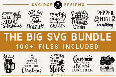 The BIG SVG Bundle Craft House SVG - SVG files for Cricut and Silhouette