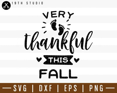 Very thankful this fall SVG | M38F14 Craft House SVG - SVG files for Cricut and Silhouette
