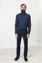 Alex Twill Pant in Navy